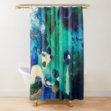 The Wonders of the World, Tiny World Collection Shower Curtain