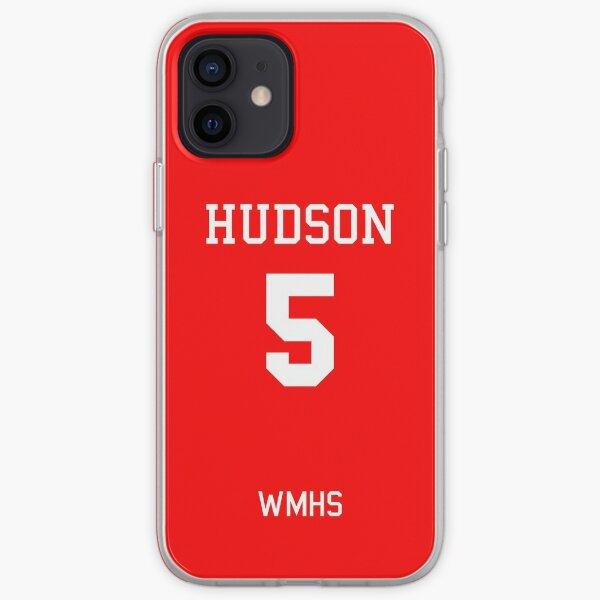 Finn Hudson Football Jersey (Home) iPhone Soft Case