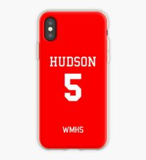 Finn Hudson Football Jersey (Home) iPhone Case