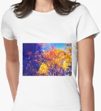 Autumn Colours - no8119 Women's Fitted T-Shirt