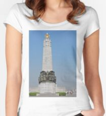 Belgian National Infantry Memorial, Brussels Women's Fitted Scoop T-Shirt