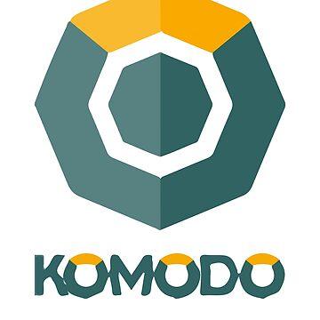 Komodo Cryptocurrency Blockchain KMD Shirt by curbapparel