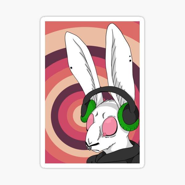 The Smell Rabbit Sticker
