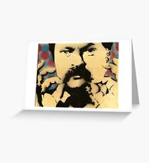 Ron Swanson / Nick Offerman  - Twirl Stache Greeting Card