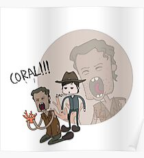 The Walking Dead Coral Poster