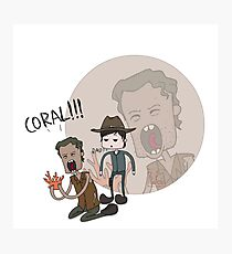 The Walking Dead Coral Photographic Print