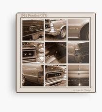 1965 Pontiac GTO Metal Print