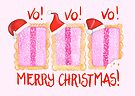 Iced VoVo - VO VO VO! Merry Christmas! by makemerriness