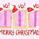 Iced VoVo - VO VO VO! Merry Christmas! by makemerriness