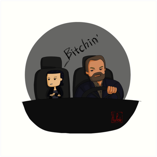 Stranger things-Eleven and Hopper Bitchin