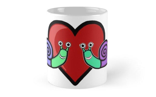 Snail Couple by blakcirclegirl