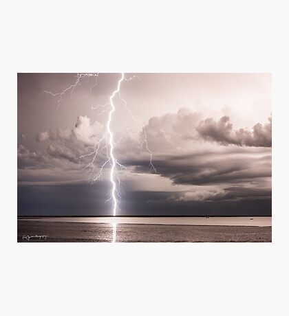 Kimberley Lightning Strike Photographic Print