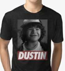 Dustin - Stranger Things Tri-blend T-Shirt