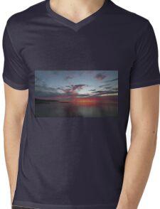 Southern Sunset Mens V-Neck T-Shirt