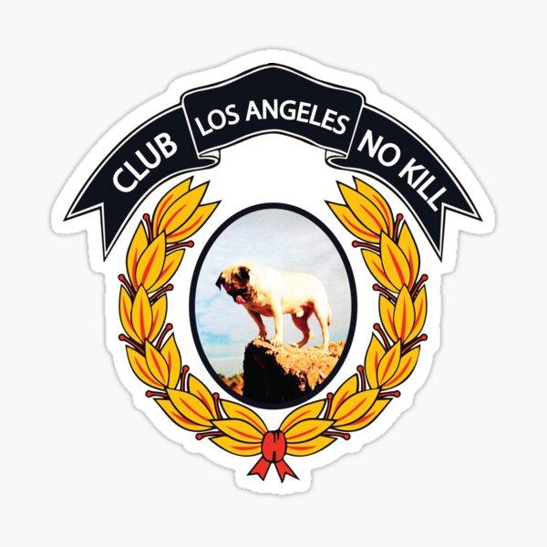 CLUB NO-KILL LA Sticker