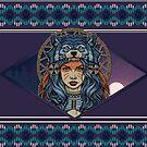 Native Female Warrior by PatinoDesign