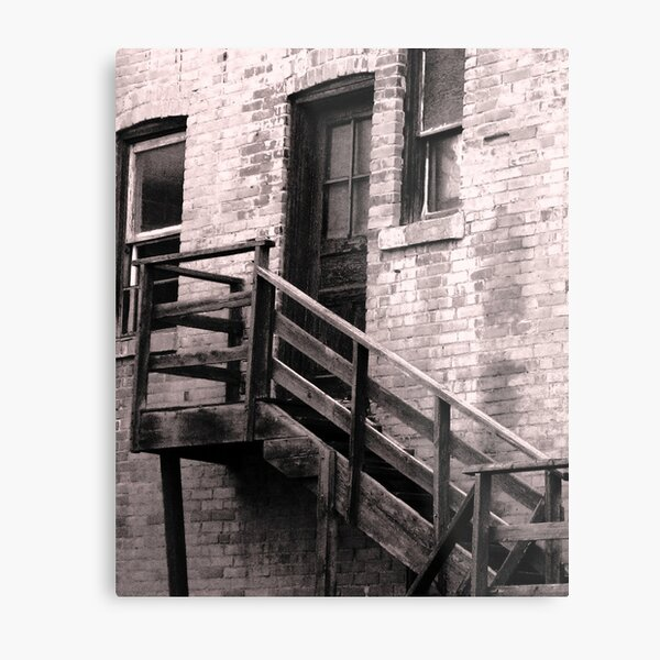 Ascend and Enter Metal Print