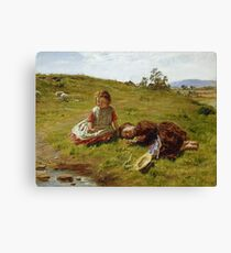 Spring 1864 William McTaggart Canvas Print