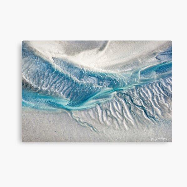 Tidal Textures Canvas Print