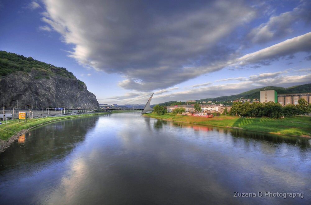 the river elbe by Zuzana D Photography