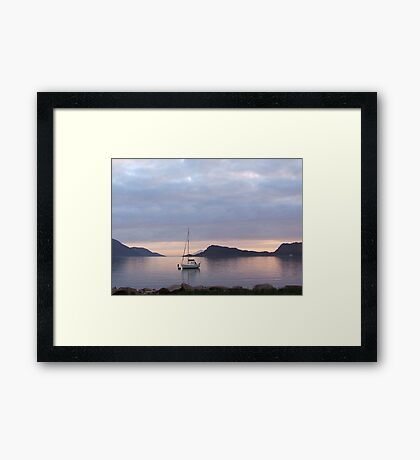 perfect anchorage Framed Print