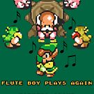 Link to the Past - Flute Boy Plays Again by Justin-Case001
