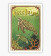 Virgin Islands National Park Travel Decal Sticker