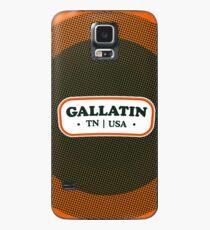 Gallatin   Retro Badge Case/Skin for Samsung Galaxy