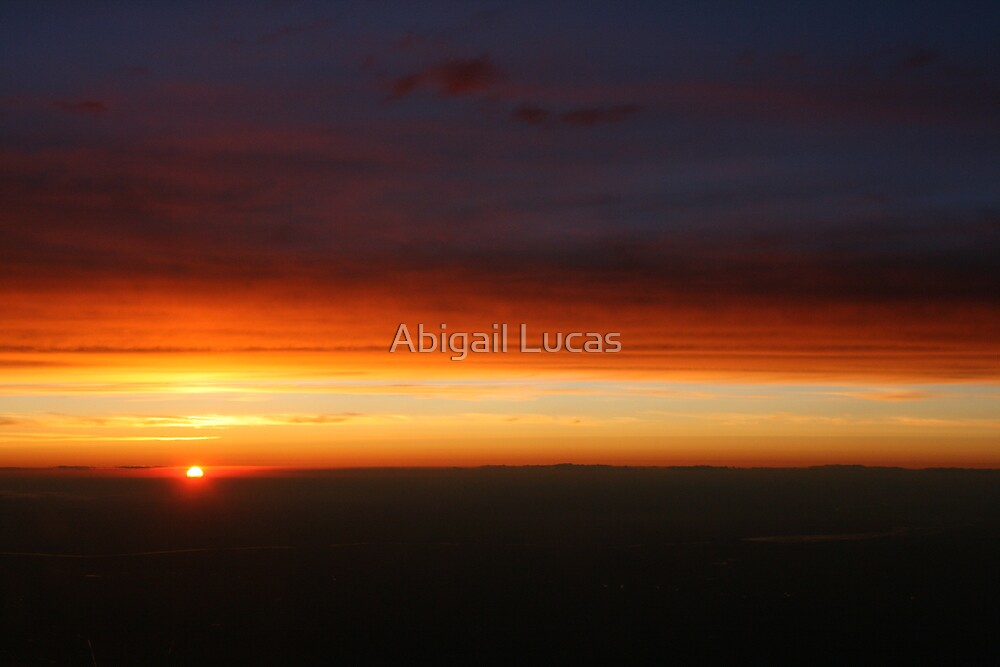 Chicago Sunset by Abi Skeates