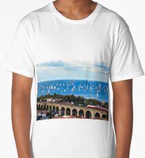 The Barcolana regatta in the gulf of Trieste Long T-Shirt