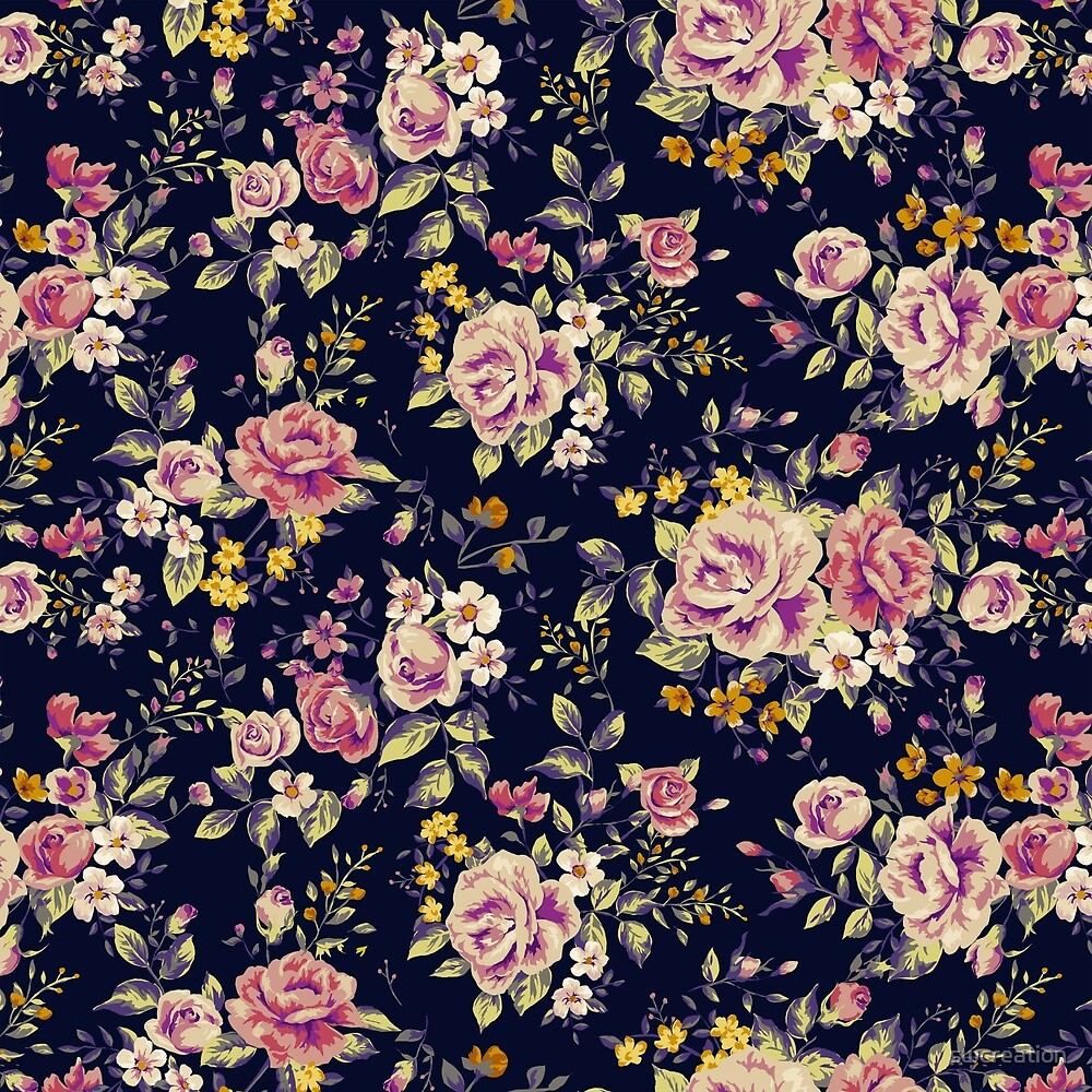 Floral pattern 1 by swcreation