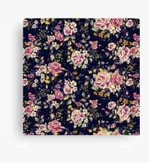 Floral pattern 1 Canvas Print