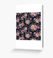 Floral pattern 1 Greeting Card