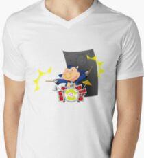 Farmyard Rock - Bently Mens V-Neck T-Shirt