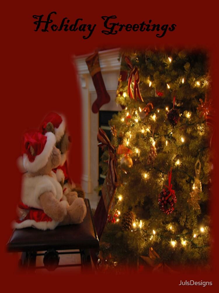 Teddy Holiday Gretting by JulsDesigns