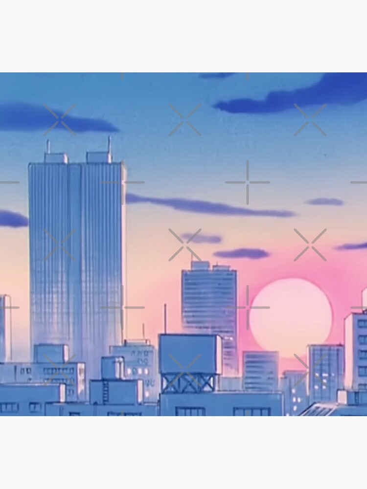 Sailor Moon City Landschaft von Freshfroot