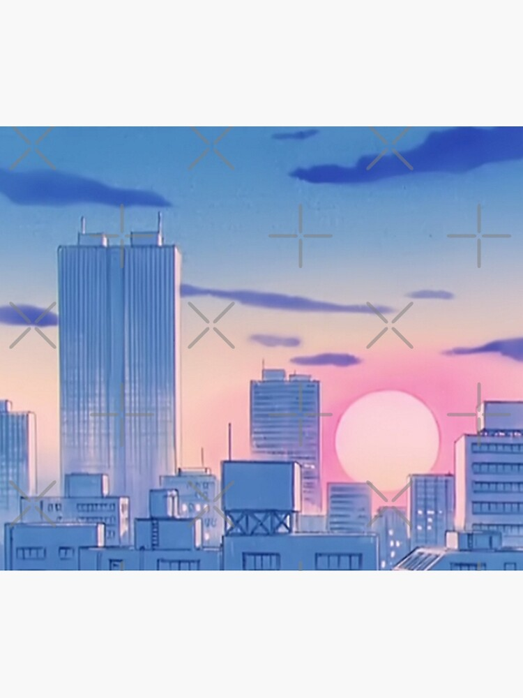 Sailor Moon City Landscape by Freshfroot