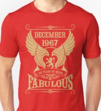December 1967 50 years of being Fabulous! T-Shirt