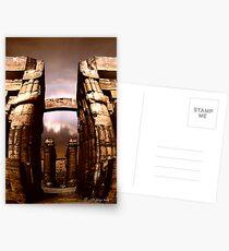 the ancient  corridor Postcards