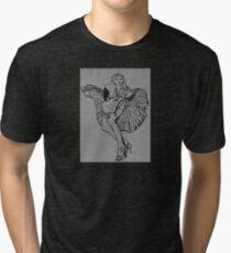 Marlin in Brick Tri-blend T-Shirt