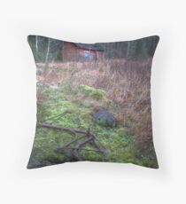 'The End of the Road' (HDR) Throw Pillow