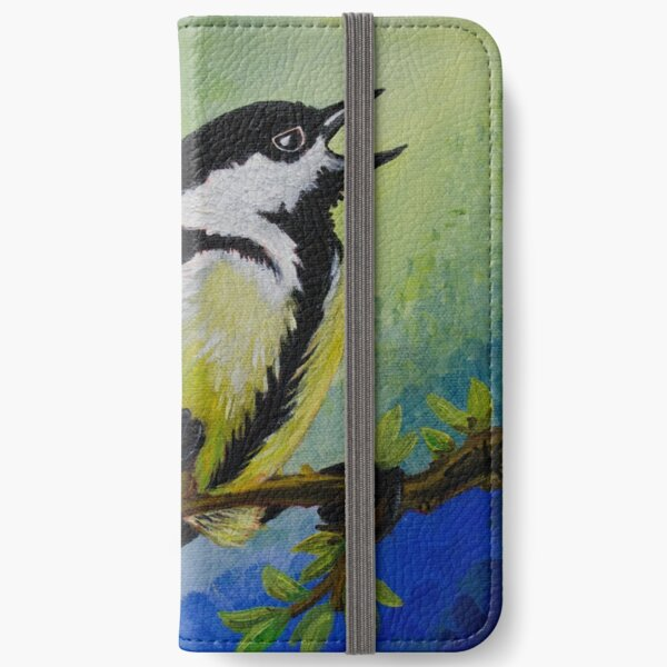Great Tit  iPhone Wallet