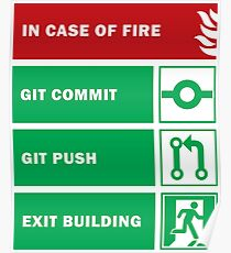 In Case of Fire for Developers Poster