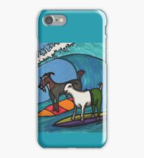 Surfing Goats iPhone Case/Skin