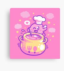 Cookin' with Kirby Canvas Print