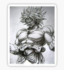 Broly (ブロリー) Dragon Ball Artwork  Sticker