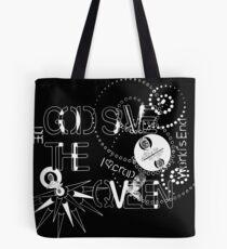 God Save The QVeen - Vivienne Icons (black version) Tote Bag