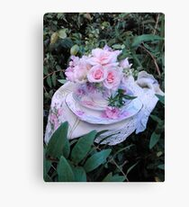 Cup o' pink Canvas Print