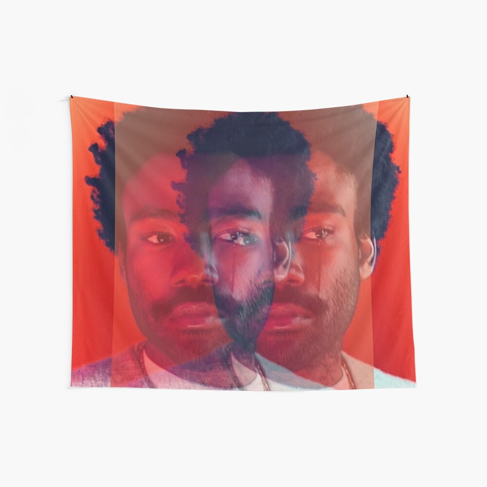 Doppel Gambino Tränen - Donald Glover Print Wandbehang