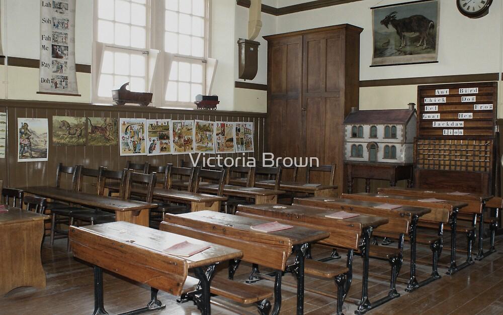 1921 school room by Victoria Brown